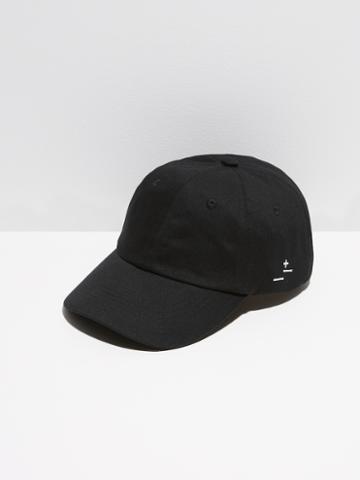 Frank + Oak Cotton-twill Dad Cap In Black