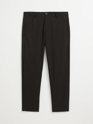 Frank + Oak The Granville Tapered-fit Pant In True Black