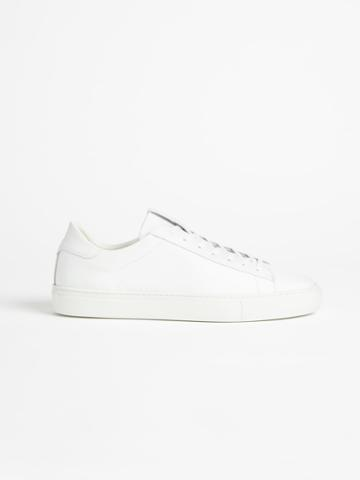 Frank + Oak The Park Leather Low-top Sneaker - White