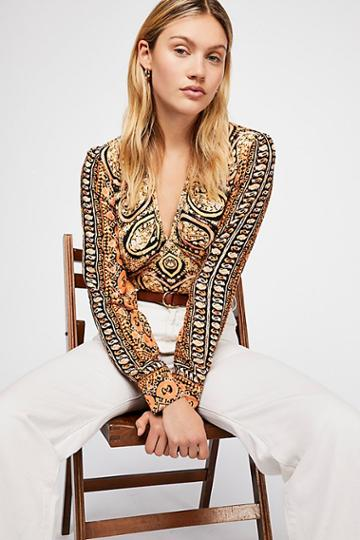 Wild And Free Blouse By Free People