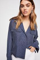 Kim's Silk Buttondown By Free People