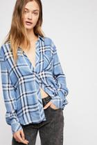Hunter Plaid Buttondown By Rails At Free People