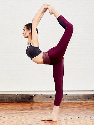 Hybrid Run Crop Legging By Fp Movement - Yoga Leggings