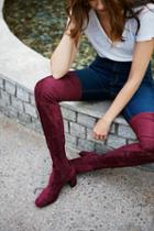 Free People Womens Parkway Thigh High Boot