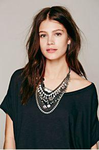 Kniezewski Statement Necklace At Free People