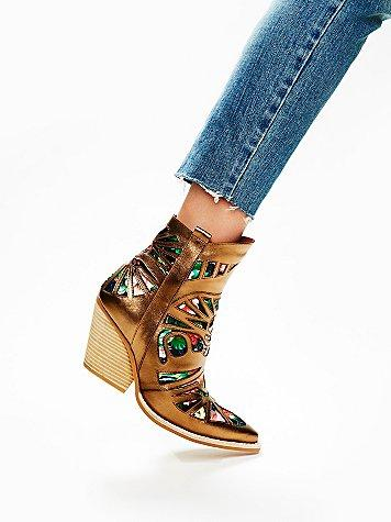 Jeffrey Campbell + Free People Wilshire Western Boot