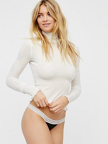One Love Thong By Intimately At Free People