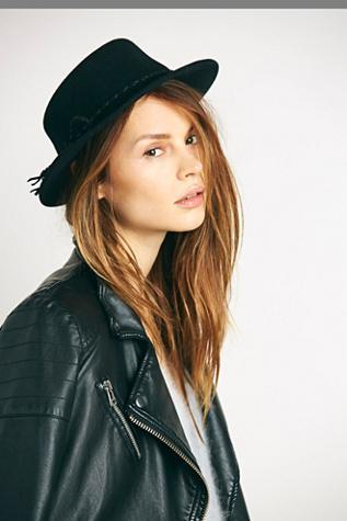 Hat Attack For Free People Womens Bolo Wrapped Boater