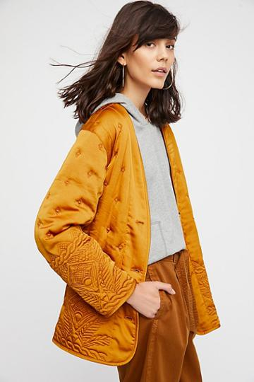 Aces High Liner Jacket By Free People