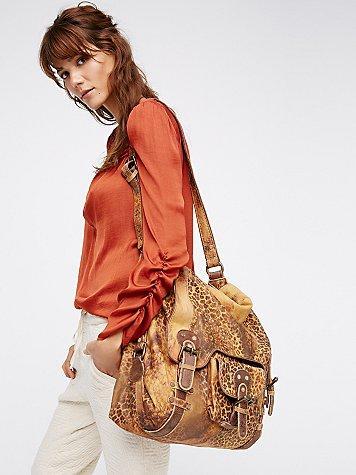 Old Gringo Leopardito Messenger Bag