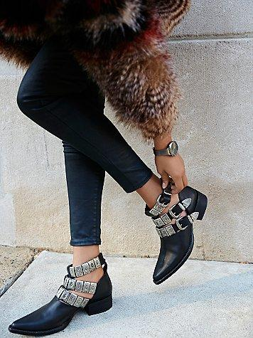 Jeffrey Campbell + Free People Ace Western Boot