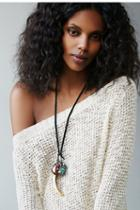 Love Heals Womens Kuraka Leather Necklace