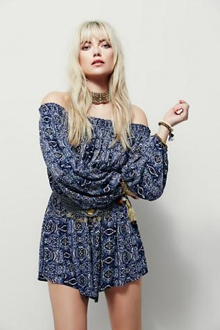 Free People Womens Free Flowing Romper