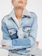 Boyfriend Patched Trucker Jacket By Levi's Made & Crafted