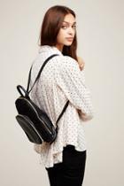 Gracie Roberts Womens Lyra Faux Fur Backpack