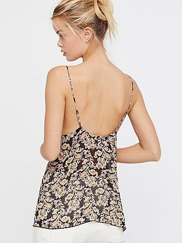 Printed Pretty Thing Cami By Intimately At Free People