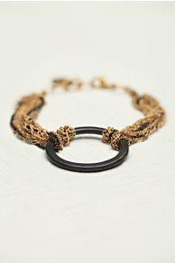 Cecilia Gonzales Chained Geo Bracelet At Free People