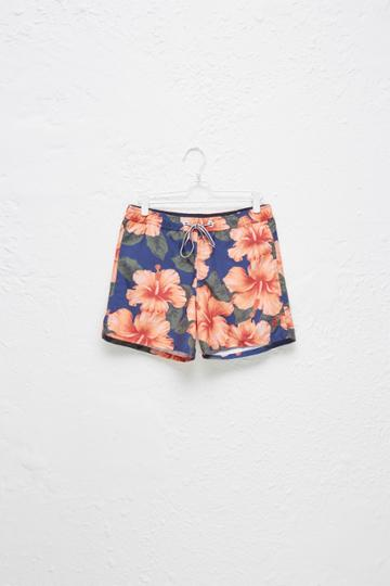 French Connection Wela Hawaiian Swim Shorts