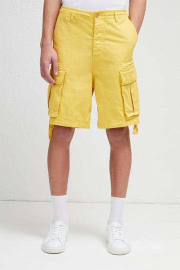 French Connection Garment Dye Military Twill Shorts