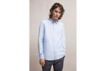 French Connection Attic Peach Stripe Shirt