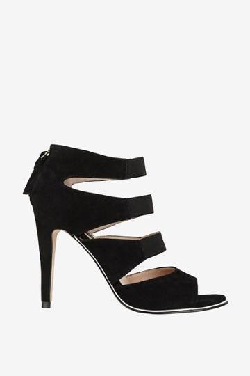 French Connection Nolie Suede Strappy Heels
