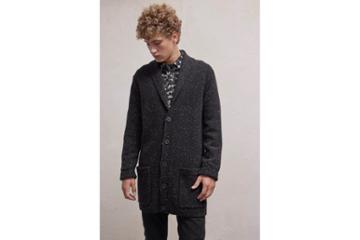 French Connection Oversized Donegal Cardigan