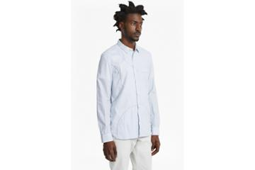 French Connection Multi Spot Patch Striped Shirt