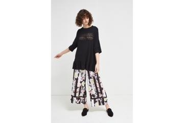 French Connection Enoshima Suiting Floral Culottes