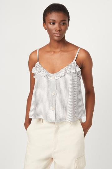 French Connenction Laiche Stripe Cami