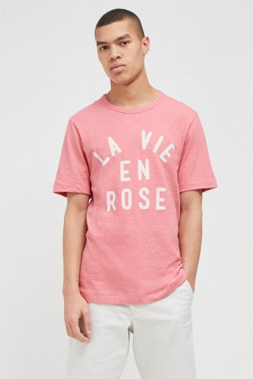 French Connection La Vie En Rose T-shirt
