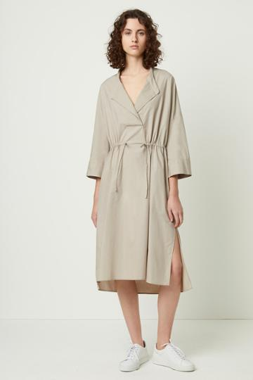 French Connenction Adoni Poplin Shirt Dress