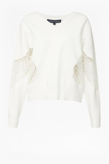 French Connenction Valerie Lace Knit Jumper