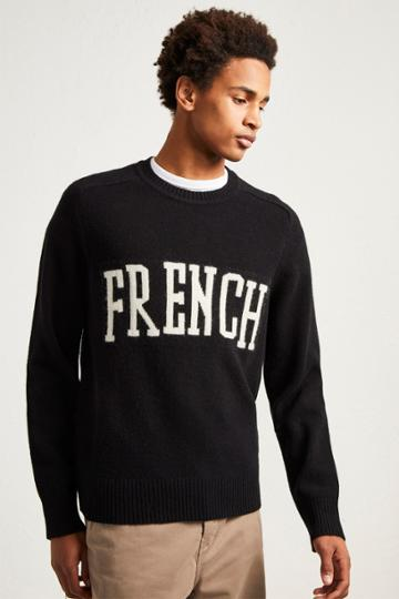 French Connenction French Wool Intarsia Jumper
