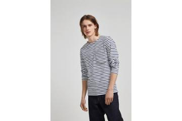 French Connection Franstripe Crew Neck T-shirt