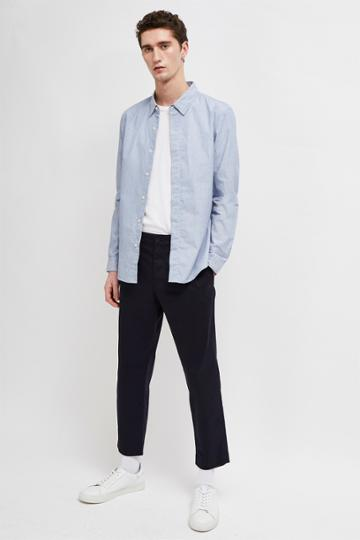 French Connenction Micro Stripe Dobby Shirt
