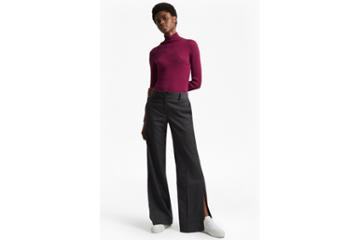 French Connection Georgie Suiting Wide Leg Trousers