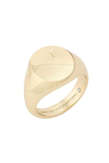 French Connection Signet Ring