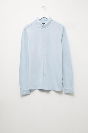 French Connenction Jersey Slim Fit Shirt