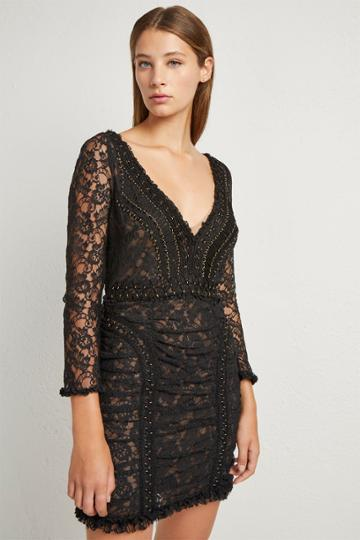 French Connenction Muriel Lace Bodycon Dress