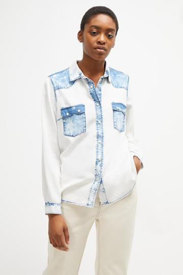French Connenction Lotty Lyocell Western Shirt