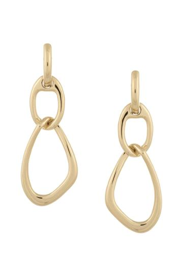 French Connection Interlocking Drop Earrings
