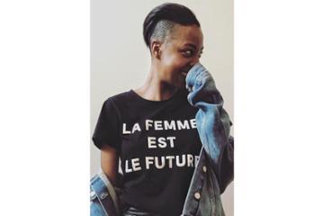 French Connection La Femme Est Le Future Top