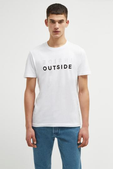 French Connenction Inside Outside T Shirt