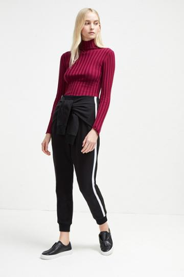French Connection Tied Sleeve Tri-blend Sweat Trousers
