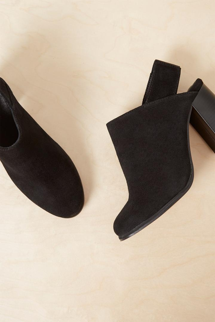 French Connenction Lula Suede Slingback Heels