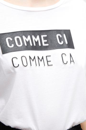 French Connection Comme Ci Comme Ca T-shirt