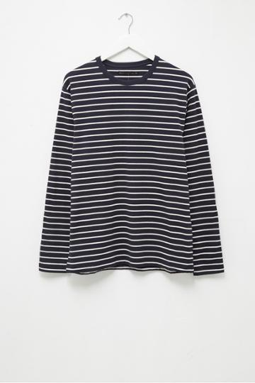 French Connenction Tim Stripe Crew Neck T-shirt
