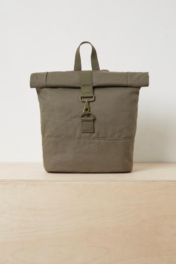 French Connenction Saul Roll-top Backpack