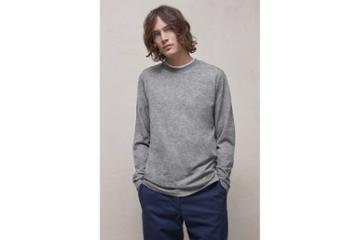French Connection Wool Jersey Long Sleeve T-shirt