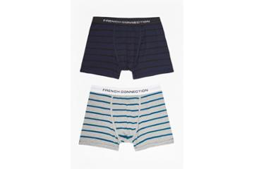 French Connection Maverick Mini Stripe Pack Of 2 Pants